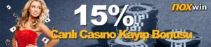 Noxwin casino bonusu