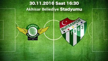 Akhisar – Bursaspor Maç Tahmini ve bahis oranları