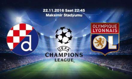 Dinamo Zagreb – Lyon Maç Tahmini