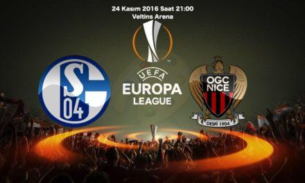Schalke 04 – Nice Maç Tahmini ve iddaa oranları