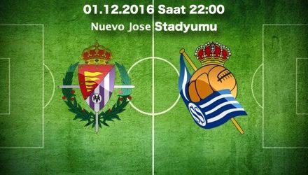 Valladolid – Real Sociedad Maç Tahmini ve bahis oranları